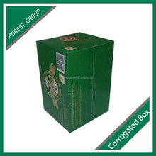 NEW 24 PACK BEER BOTTLES CORRUGATED CARTON BOX 330ML WINE SHIPPING PAPER CARRIERS MADE IN CHINA