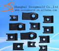 shanghai Speed Nuts - J Nut fastener for body Panels Black mild steel