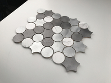NEW OEM Design Aluminum Mosaic tiles for Interior use
