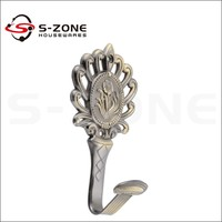 Fancy curtain decoration curtain tieback wall mounted curtain hook