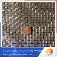 Best selling product for mine and coal industry crimped wire mesh stainless steel mesh