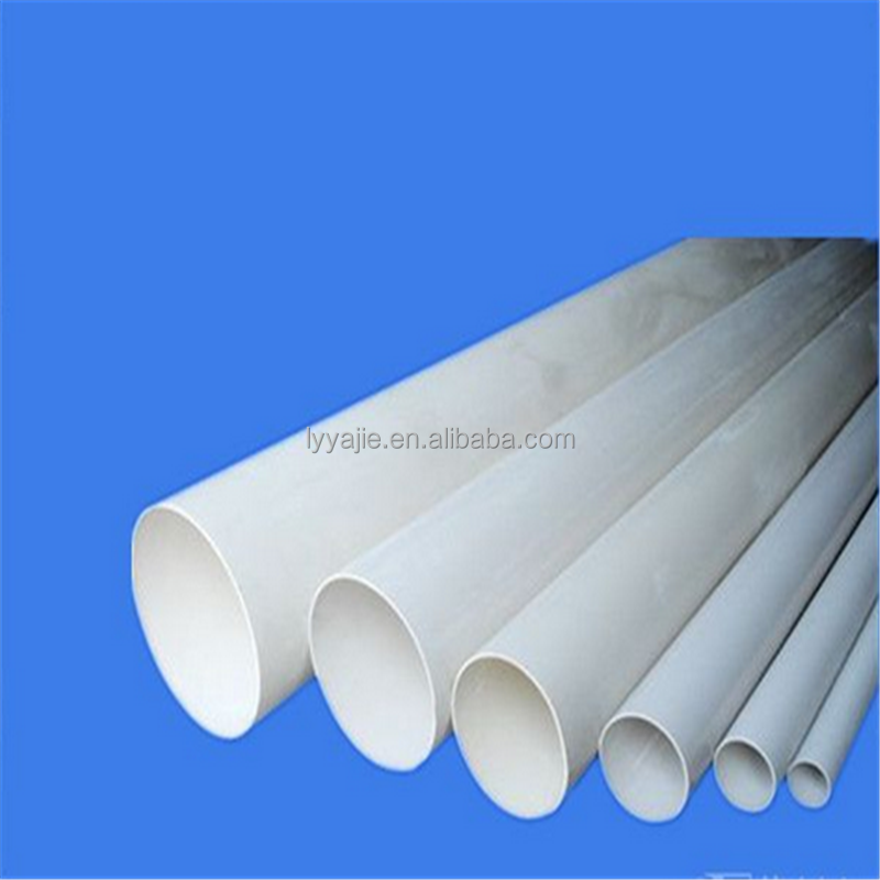 factory supply high quality pvc rainwater pipe