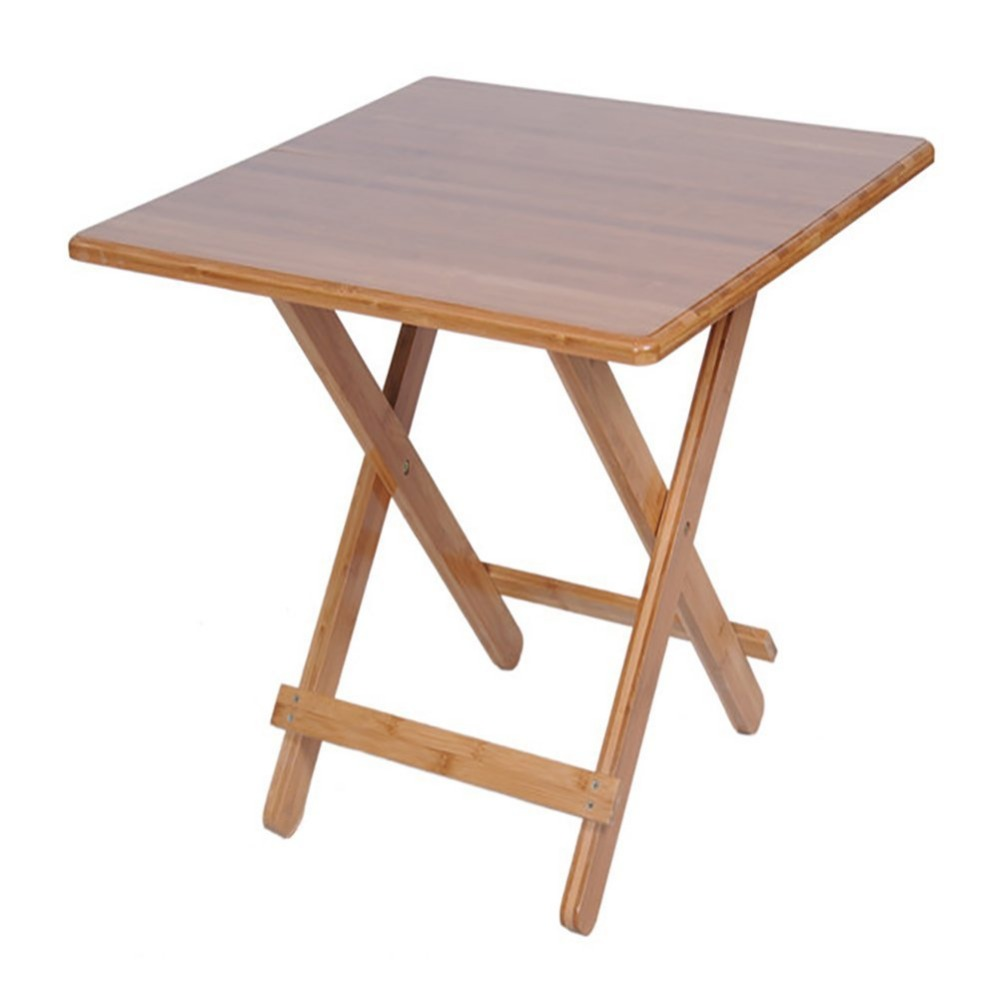 Folding Simple Small Square wood Dining Table