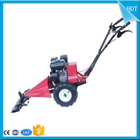 Industrial used lawn mower with mini hay baler   remote control lawn mower   riding lawn mower