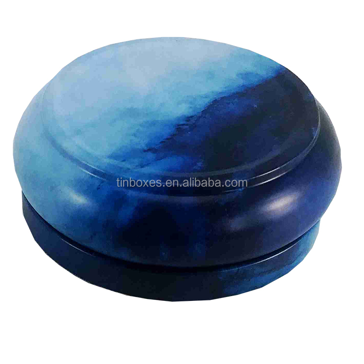 Wholesale Small Round Packaging Cash Commodity High Quality  Metal Candle Tin Box