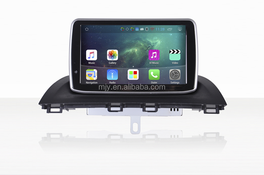 Android System Car GPS DVD navigation for New Mazda 3 Axela