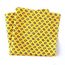 2016Jacquard patterns silk fabric fashion men scarf/pocket square/handkerchief
