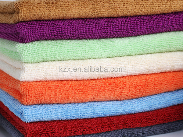 colorful household cleaning microfiber towel