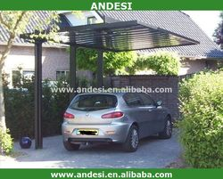 Car Parking Metal Frame Outdoor Canopy
