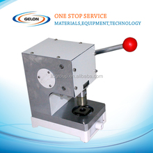 coin cell cases punching machine with standard 15 19 20 24mm (16, 18mm Available) diameter cutting die GN-T06