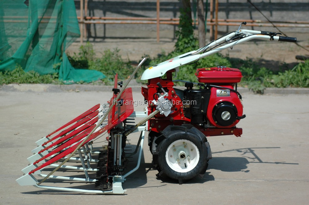 rice harvest machine