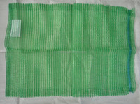 green 45x70 vegetable Raschel mesh bag