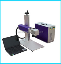 logo text Factory direct portable type fiber laser marking machine for drum,pipe clamp,bench
