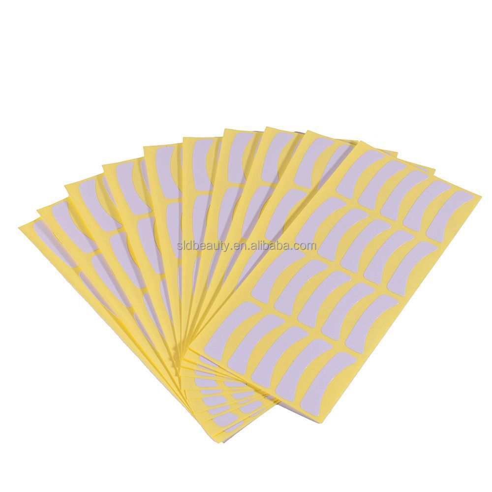 Paper Patches Eyelash Under Eye Pads Lash Eyelash Extension Paper Patches Eye Tips Sticker Wraps Make Up Tools