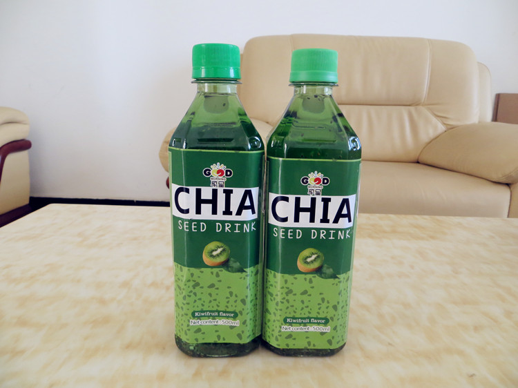 CHIA SEED DRINK WITH KIWIFRUIT FLAVOR