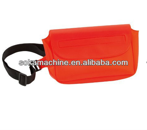 PVC waterproof bag VS waist bag