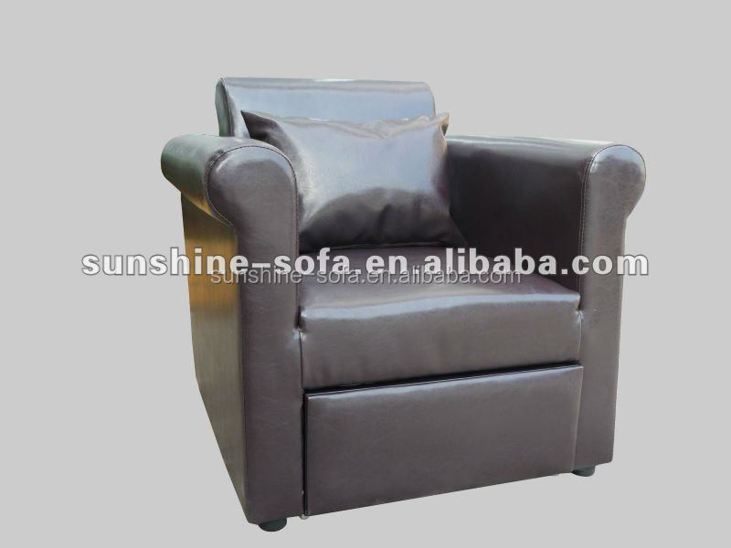 Promotional Euro Style Single PU Chair Sofa