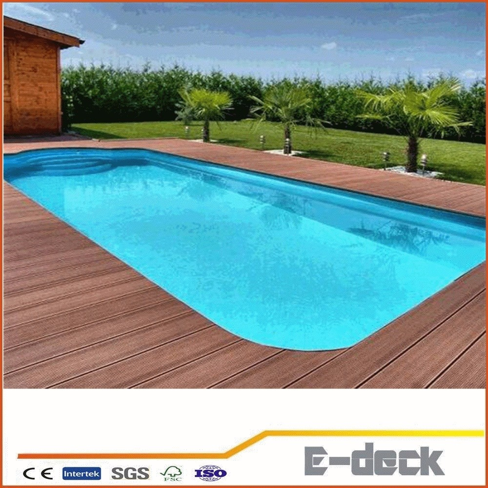 Hot Sale Wpc Plastic Composite Decking Swimming Pool Outdoor Floorings Tiles Wpc Decking Buy