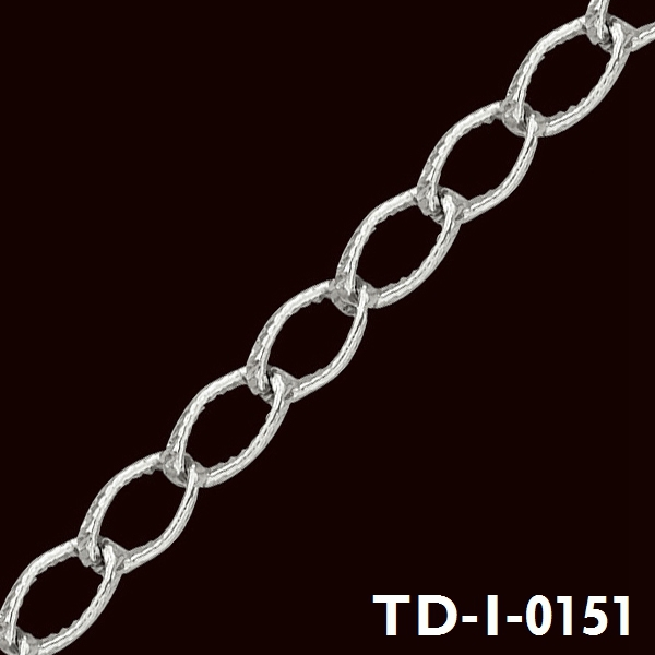 2015 Hot sale iron material sterling silver chain roll with great price