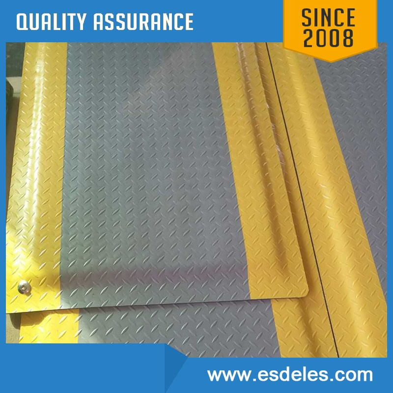 Antistatic ESD gray color anti-fatigue floor mat