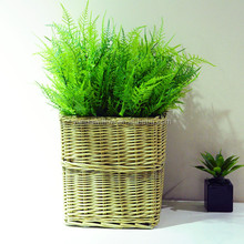 Square Wicker Baskets for Plant Natural