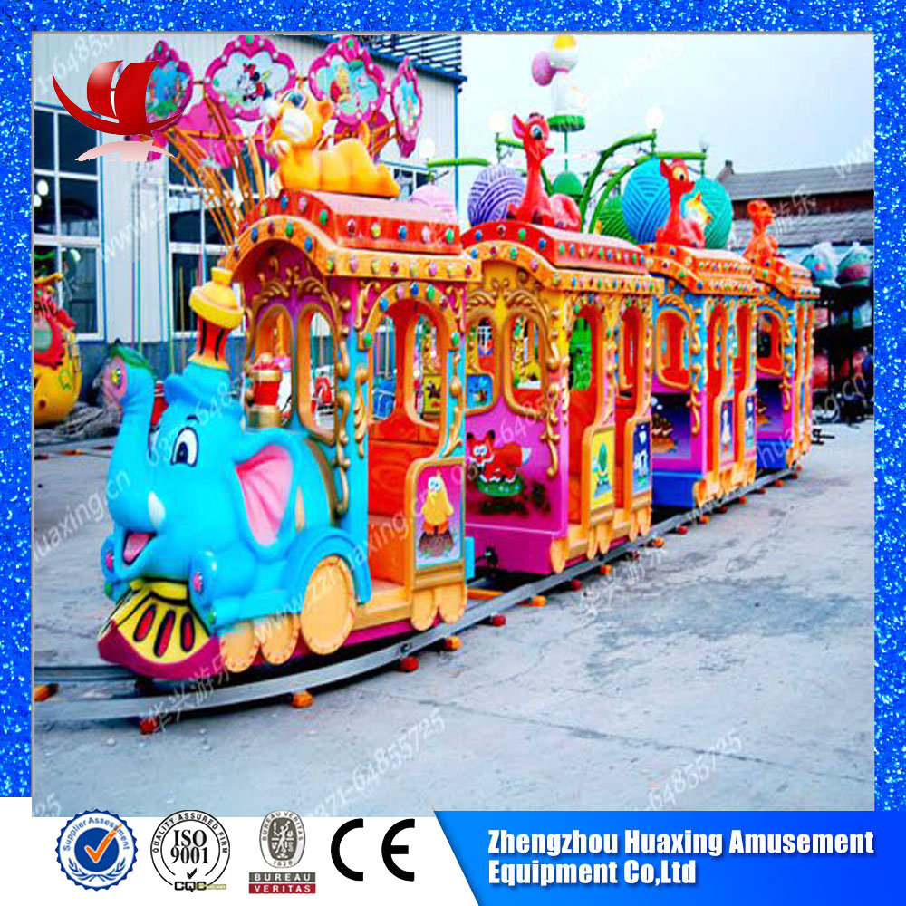 Elephant kids manege electric train