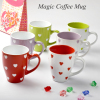 factory wholesale color changing ceramic mug 11oz 300ml customized logo promotional cup coffee mug
