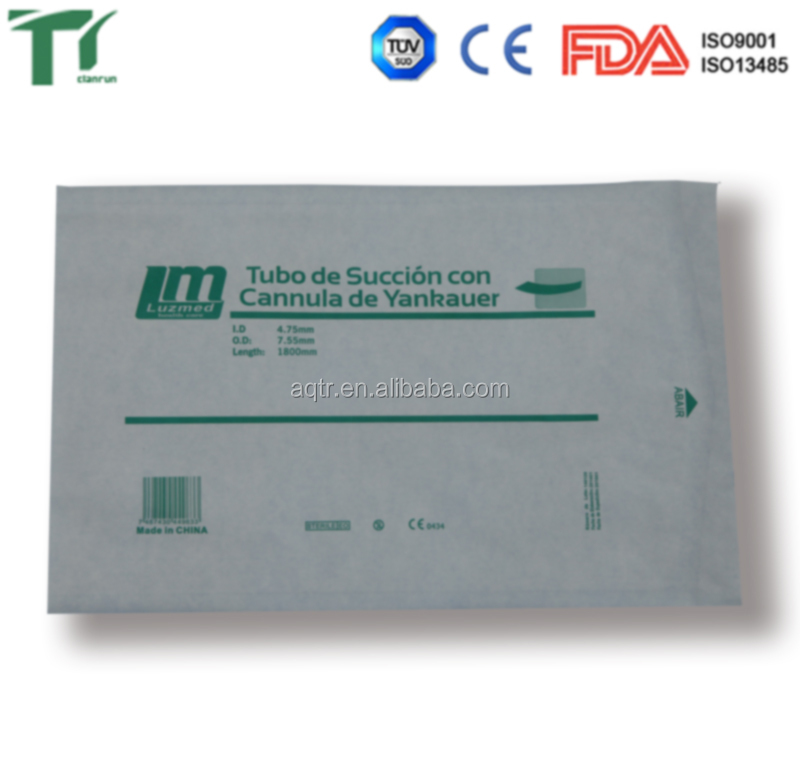 Pulmonary function test instrument package heat-sealing flat pouch