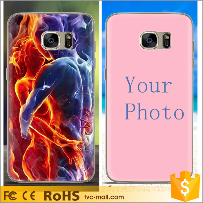 For Samsung Galaxy S7 edge SM- G935 Customized Flexible Back Cell Phone Cover Cases Manufacturer