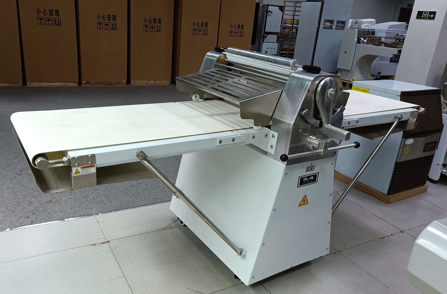 New Vertical Industrial Bread Dough Sheeter Desktop Crisp Pastry Food Mixing Machine for Sales