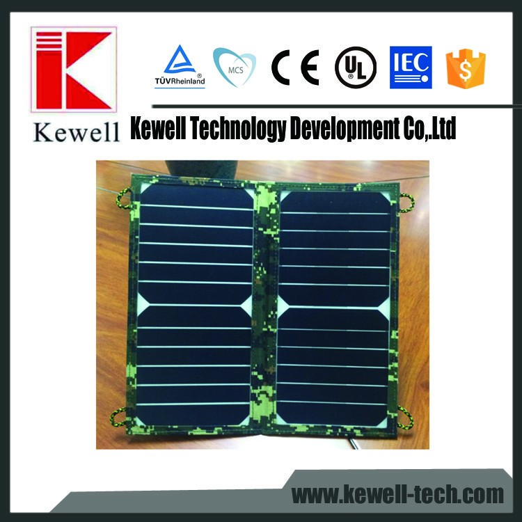 China factory cheap high quality flexible fabric customized mini folding portable solar panel