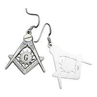 China wholesale masonic items silver jewelry