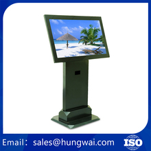 Shopping Mall LCD Touch Screen Floor Stand Advertising Display Stand