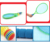 Kids plastic ball soft handle tenis racket toys games and sports equipment with badminton