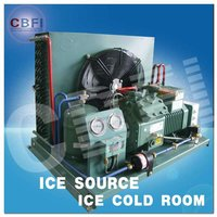 Cold room parts bitzer compressor unit with panels