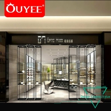 Retail Store Fixtures Modern Optical Shop Counter Design Interior Design