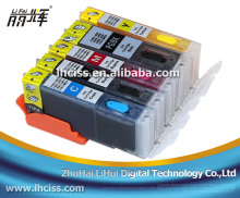 PGI-550 CLI-551 Refillable ink cartridge for Canon MX725 printer with reset chip
