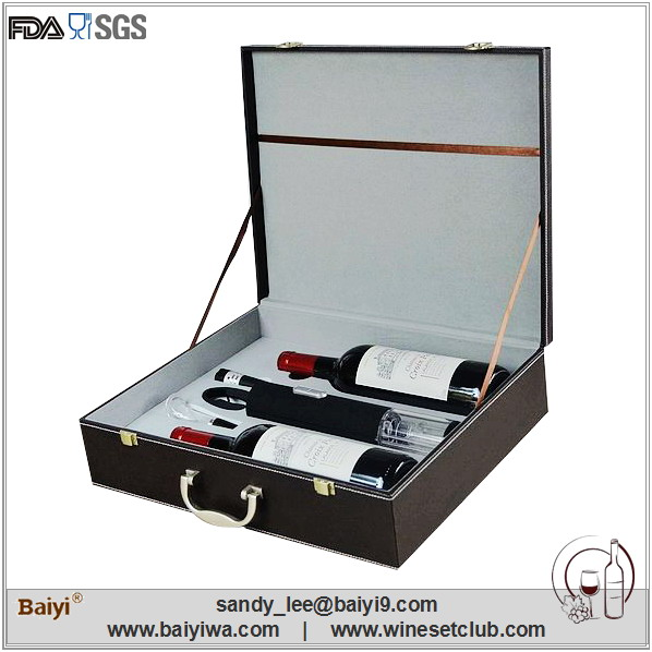 Wholesale Wooden Red Wine Box with Tool