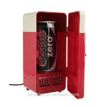 Fashionable & Portable Mini USB PC Fridge Freezer Refrigerator Beverage Drink Cans Warmer & Cooler