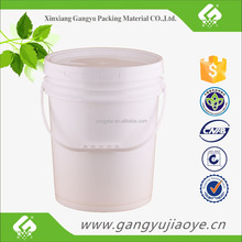 High quality 20 liter cheap plastic buckets for sale in paint oil usage
