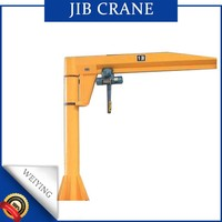 0.5-20 ton Fixed on ground Column Mounted Jib Crane price with hoist