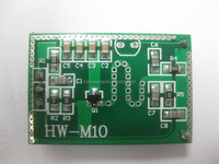 2015 Factory supply HW-M10 doppler radar distance sensor for LED lighting