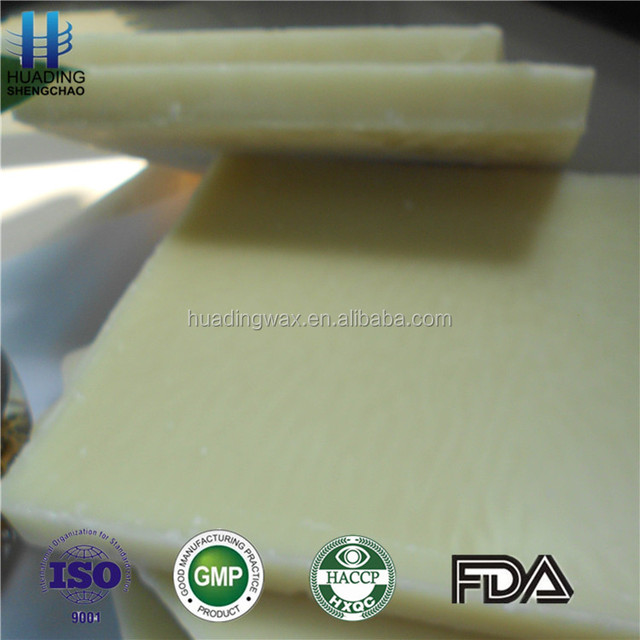 Hot Sale! Pure natural bulk raw honey yellow & white refined beeswax in block or pellets