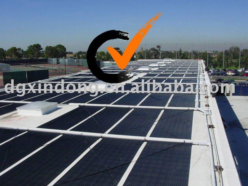 Piscine chauffe eau solaires en plastique epdm mat for Chauffe eau piscine solaire prix