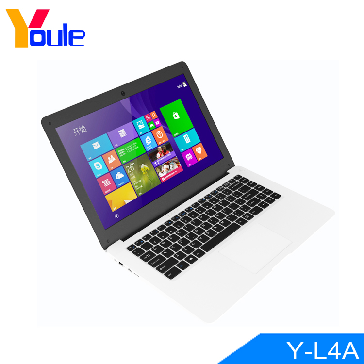 14 inch Laptop Computer with 10000mAh Battery 4GB RAM & 64GB SSD & 128GB TF Card Intel Atom X5-Z8300 1.44Ghz 8 Hour