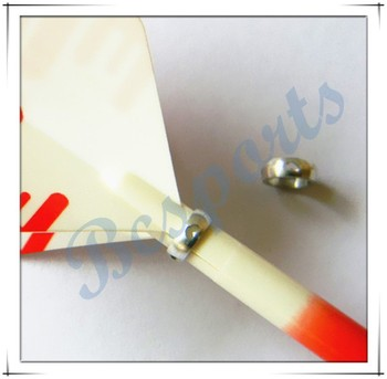 Aluminum dart shaft ring for dart accessories