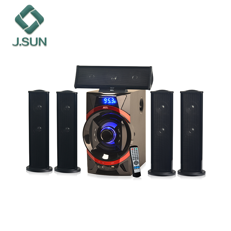 Hot Crystal sound 5.1 7.1 wireless speakers surround XCL brand home theater speakers for amplification