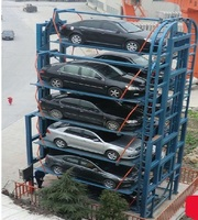 Car elevator Circulation Lifting Type Parking Equipment ramps and car lift
