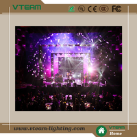 p10 flexible led video curtain