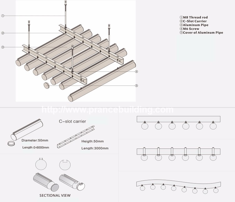 Metal Profiles Latest Cheap Building Materials